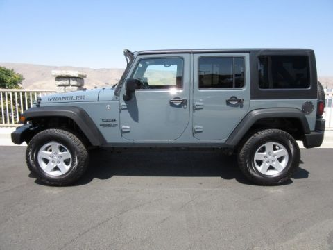 Used Jeep Wrangler Unlimited Sport