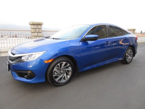 Pre-Owned 2018 Honda Civic EX w/Honda Sensing